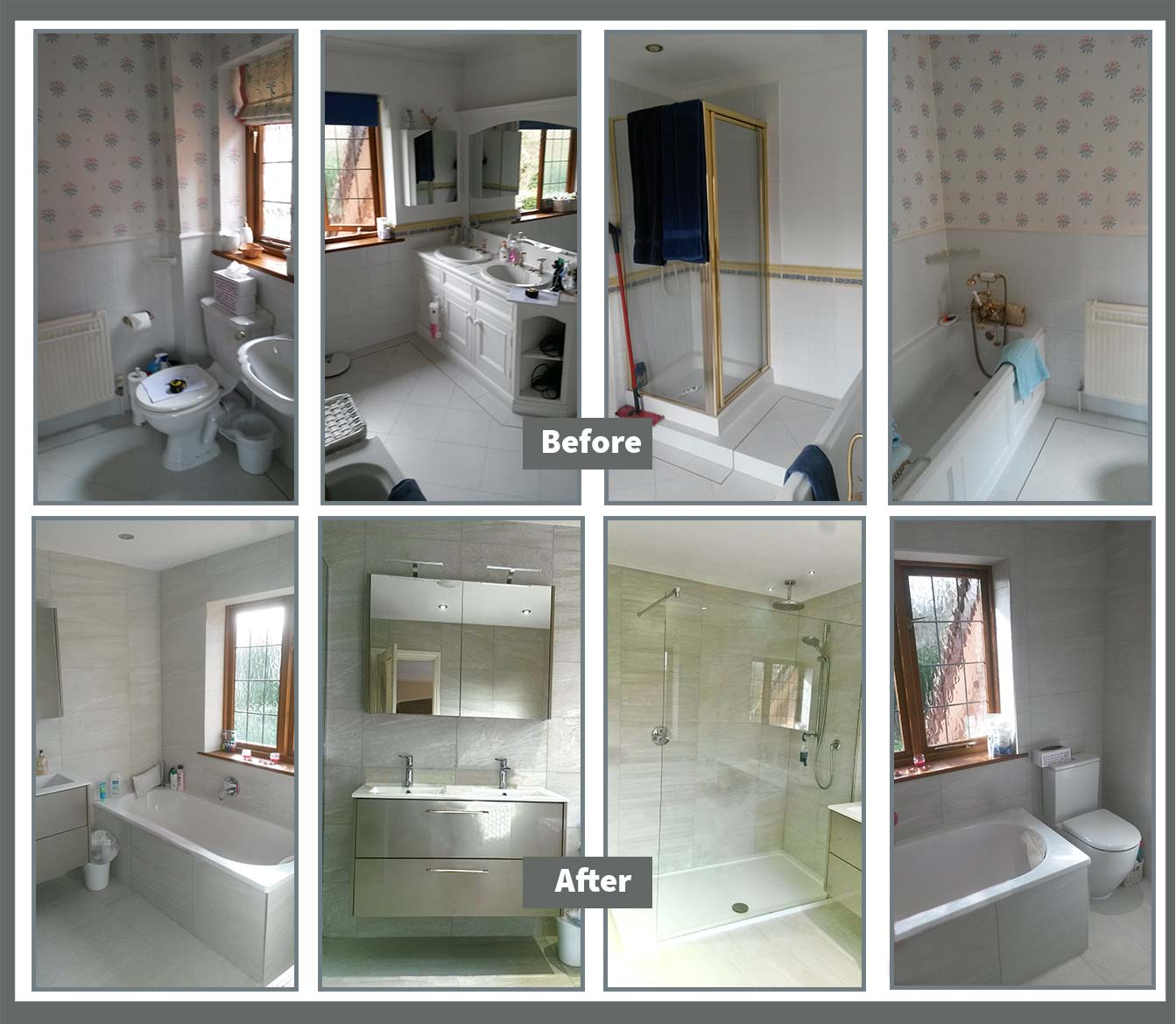 Before & After refurbishment